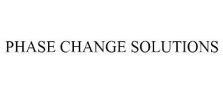 PHASE CHANGE SOLUTIONS
