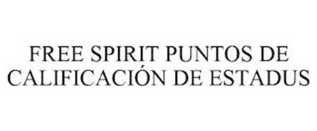 FREE SPIRIT PUNTOS DE CALIFICACIÓN DE ESTADUS