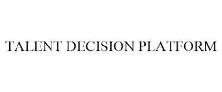 TALENT DECISION PLATFORM
