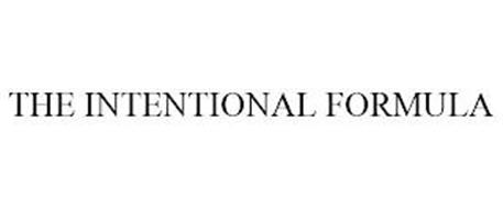 THE INTENTIONAL FORMULA