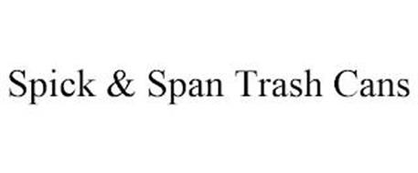 SPICK & SPAN TRASH CANS