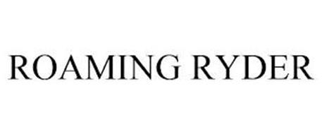 ROAMING RYDER