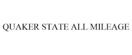 QUAKER STATE ALL MILEAGE