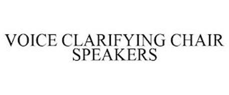 VOICE CLARIFYING CHAIR SPEAKERS