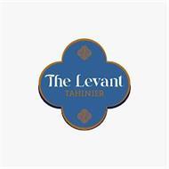 THE LEVANT TAHINIER