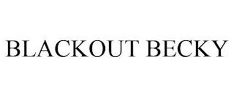 BLACKOUT BECKY