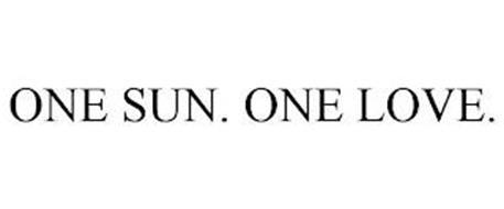 ONE SUN. ONE LOVE.