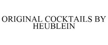 ORIGINAL COCKTAILS BY HEUBLEIN