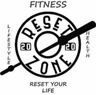 RESET ZONE 2020 FITNESS LIFESTYLE HEALTH RESET YOUR LIFE