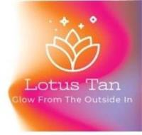 WHITE LOTUS FLOWER WHITE SPARKLE SYMBOLS FLOWER LOTUS TAN BELOW LOTUS TAN WORDS GLOW FROM THE OUTSIDE IN