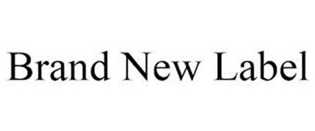 BRAND NEW LABEL