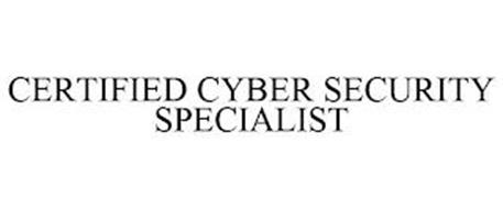 CERTIFIED CYBER SECURITY SPECIALIST
