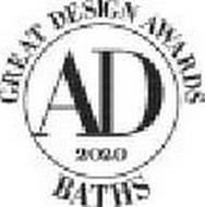 AD GREAT DESIGN AWARDS BATHS