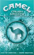 CAMEL CRUSH SMOOTH HINT OF MENTHOL MORE MENTHOL