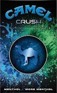 CAMEL CRUSH MENTHOL MORE MENTHOL