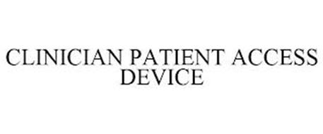 CLINICIAN PATIENT ACCESS DEVICE