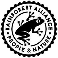 RAINFOREST ALLIANCE PEOPLE & NATURE