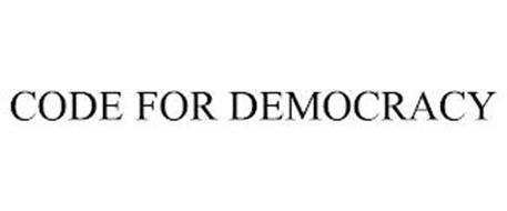 CODE FOR DEMOCRACY