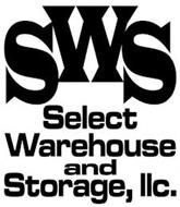 SWS SELECT WAREHOUSE AND STORAGE, LLC.