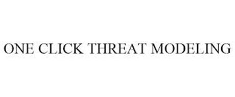 ONE CLICK THREAT MODELING
