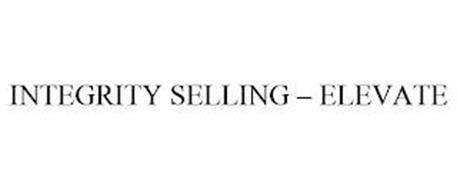 INTEGRITY SELLING - ELEVATE