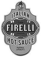 ITALIAN CASA FIRELLI TRADEMARK HOT SAUCE PARMA. (ITALY)