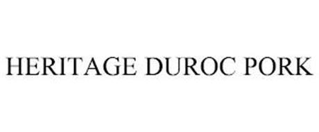 HERITAGE DUROC PORK