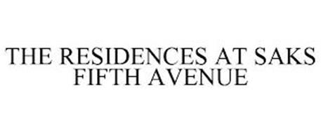 THE RESIDENCES AT SAKS FIFTH AVENUE