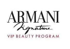 ARMANI SIGNATURE VIP BEAUTY PROGRAM
