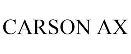 CARSON AX