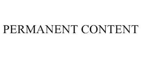 PERMANENT CONTENT