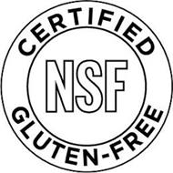 NSF CERTIFIED GLUTEN-FREE