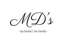 MD'S - BY FAMILY | FOR FAMILY -