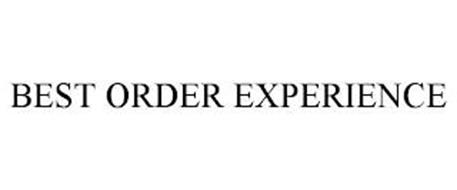 BEST ORDER EXPERIENCE