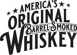AMERICA'S ORIGINAL BARREL-SMOKED WHISKEY