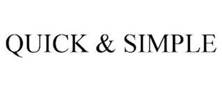 QUICK & SIMPLE