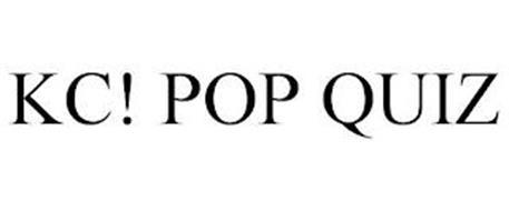 KC! POP QUIZ