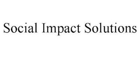 SOCIAL IMPACT SOLUTIONS