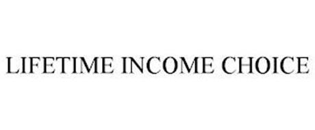 LIFETIME INCOME CHOICE