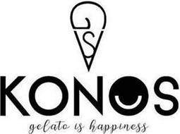 GSV KONOS GELATO IS HAPPINESS
