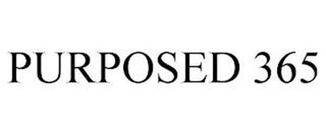 PURPOSED 365
