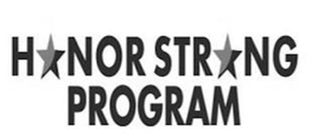 HONOR STRONG PROGRAM