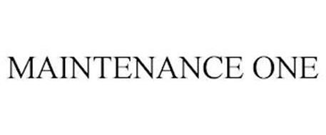 MAINTENANCE ONE