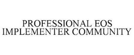PROFESSIONAL EOS IMPLEMENTER COMMUNITY