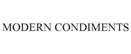 MODERN CONDIMENTS