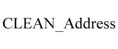 CLEAN_ADDRESS