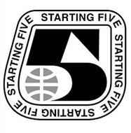 5 STARTING FIVE STARTING FIVE STARTING FIVE STARTING FIVE