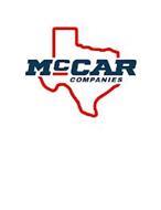 MCCAR COMPANIES