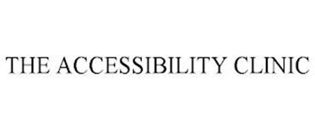 THE ACCESSIBILITY CLINIC