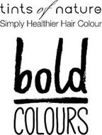 TINTS OF NATURE SIMPLY HEALTHIER HAIR COLOUR BOLD COLOURS